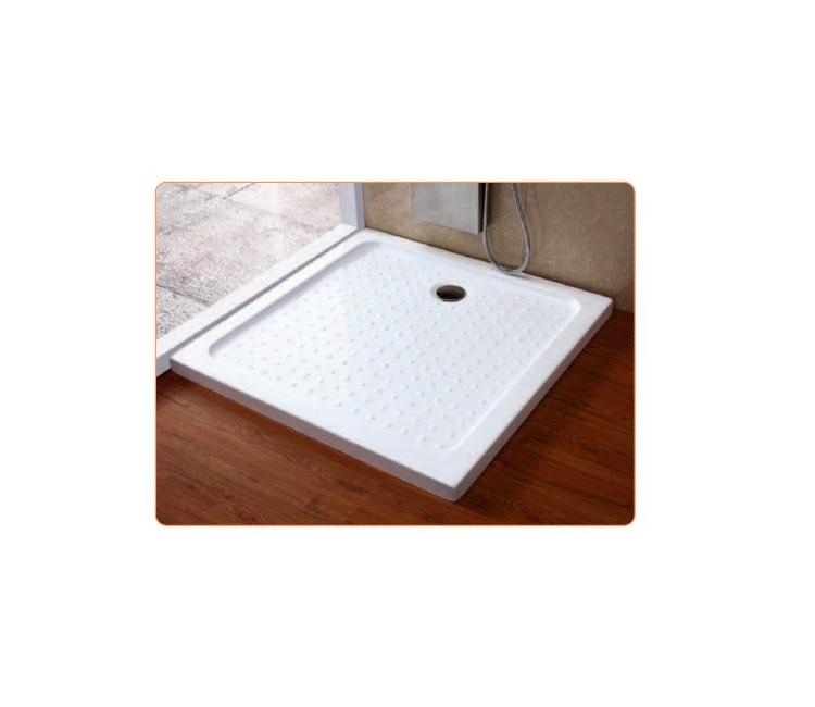 Plato de ducha acr lico extraplano cuadrado 900x900x40 - Platos de ducha acrilicos ...