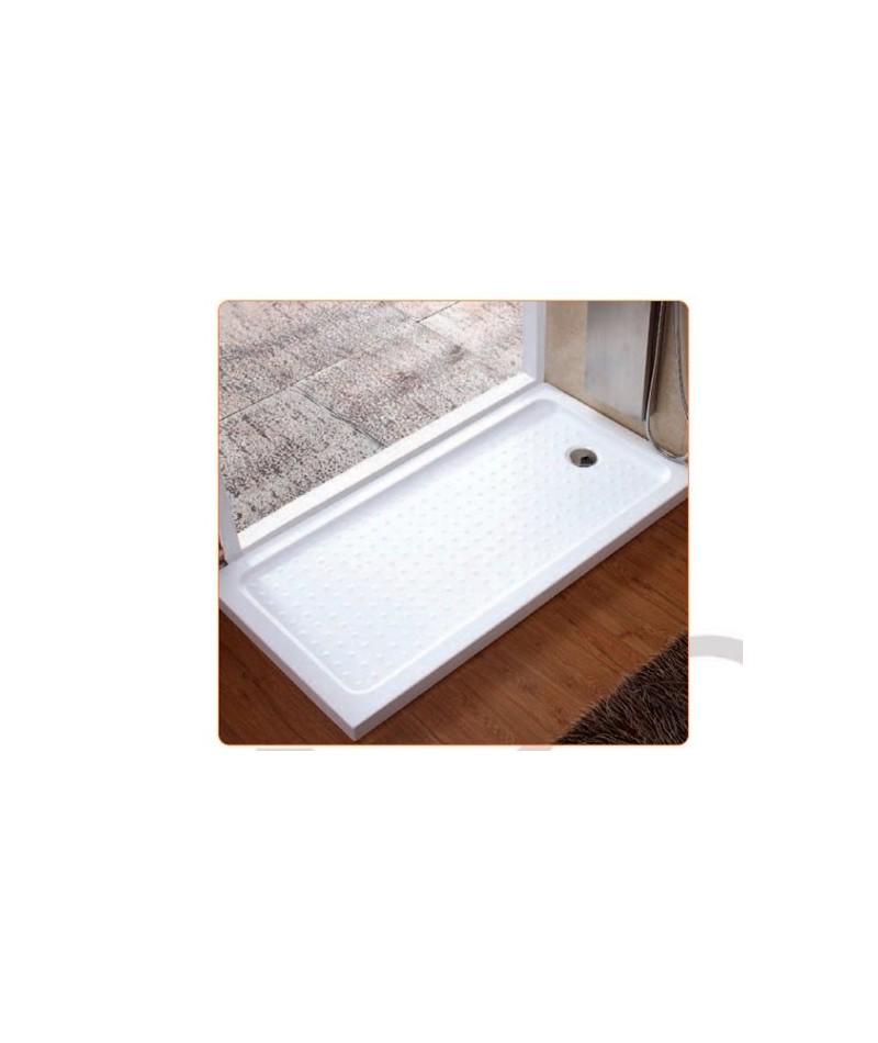 Plato de ducha acr lico extraplano rectangular 900x750x40 for Plato ducha acrilico