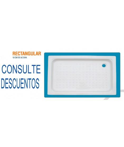 PLATO CERÁMICO ALTURA 10 CM 120X70 RECTANGULAR