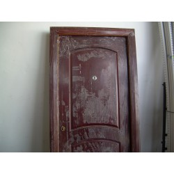 Puerta Exterior 970X2120 Drch,Cerradura,Mirilla Fipusizz0019