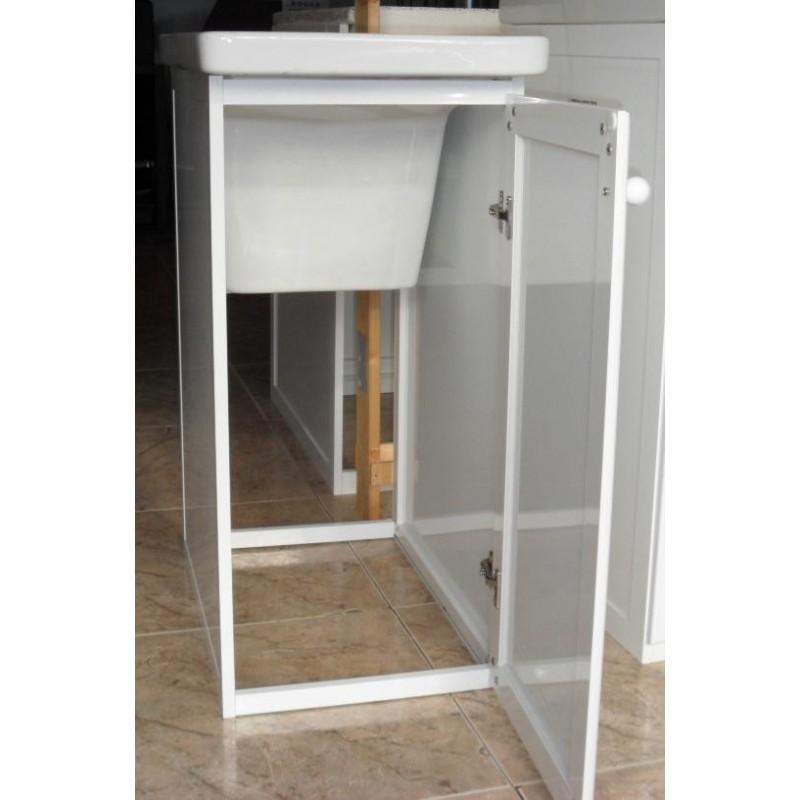Pila lavadero y mueble comercial prados for Lavadero de cocina con mueble