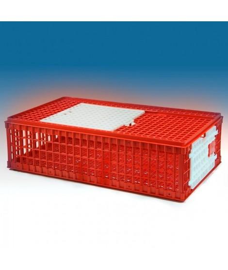 Jaula para transporte de aves de plástico