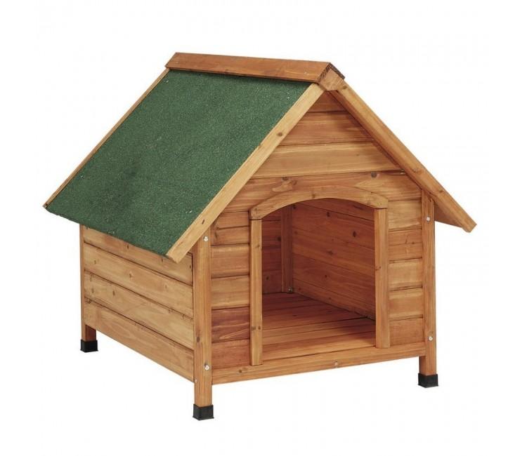 Casetas madera para perros 2 aguas grande - Casetas para perros ...