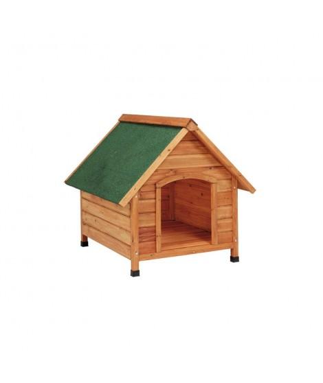 Casetas madera para perros 2 aguas pequeña