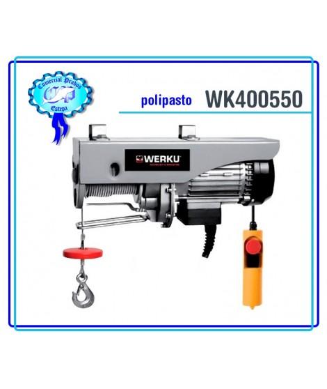 Polipasto Cable 1000kg 200W Werku WK 400550