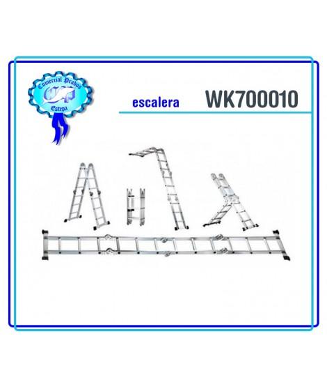WK 700010 Escalera alumínio multiuso werku