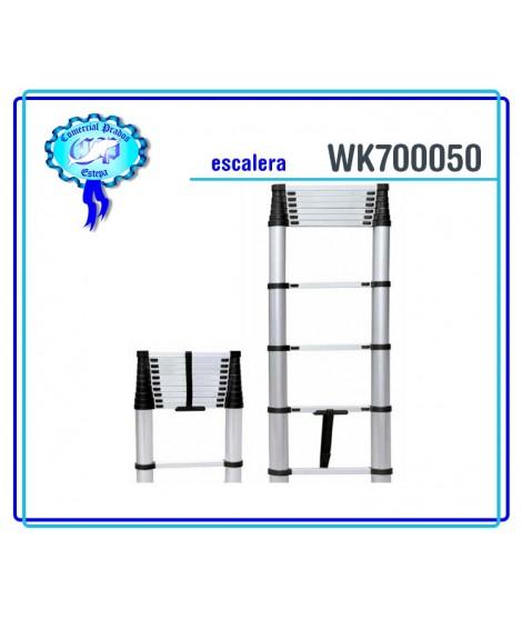 WK 700050  Escalera alumínio telescópica werku