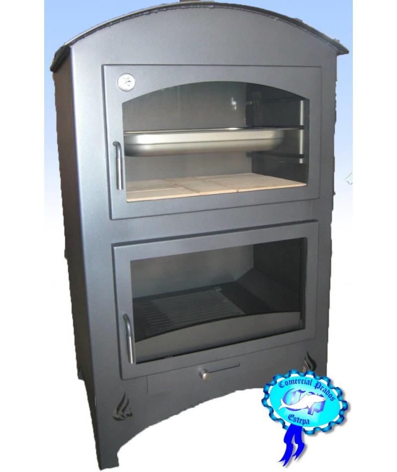 Estufa de le a b1 con horno barata - Estufas con horno de lena ...