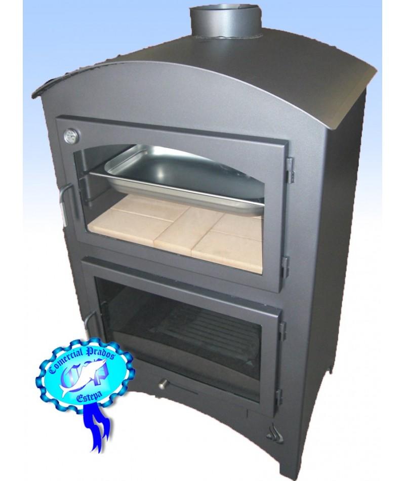 Estufa de le a b1 con horno barata - Estufa lena con horno ...
