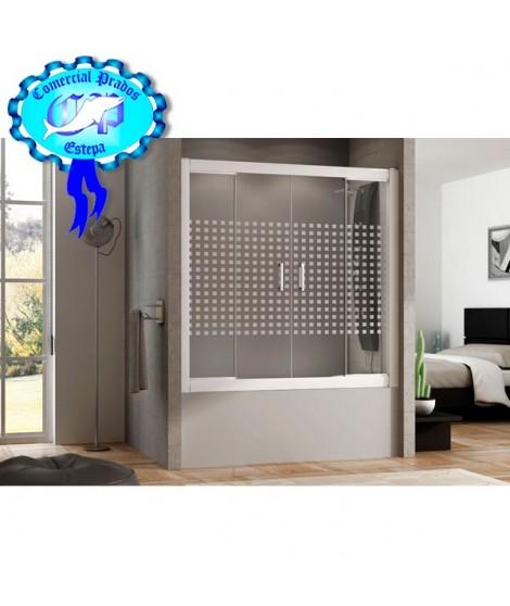 Mampara de Baño y ducha Blanca serie A