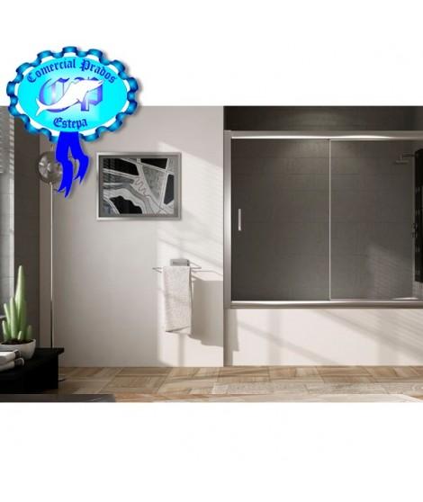 Mampara de Baño y ducha plata serie A mod A002