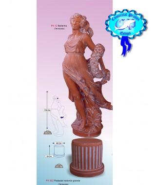 Figura de jardin Bailarina fabricada en piedra artificial