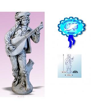 Figura de jardin Bohemio fabricada en piedra artificial