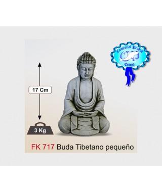 Figura de jardin Buda Tibetano pequeño fabricada en piedra artificial