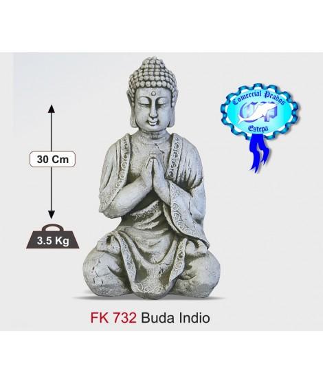Figura de jardin Buda indio fabricada en piedra artificial