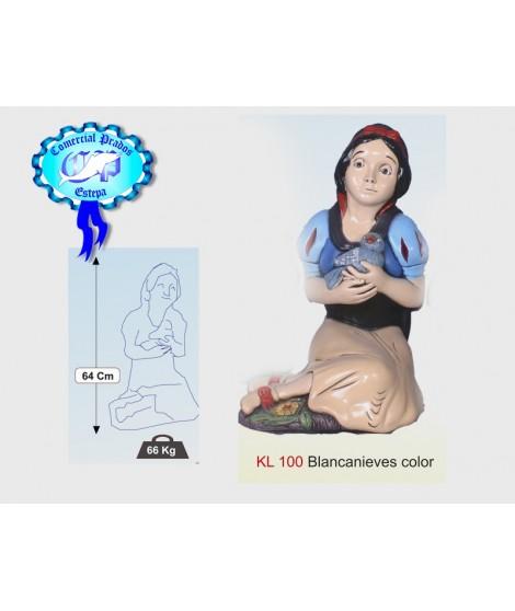 Estatua Blancanieves color
