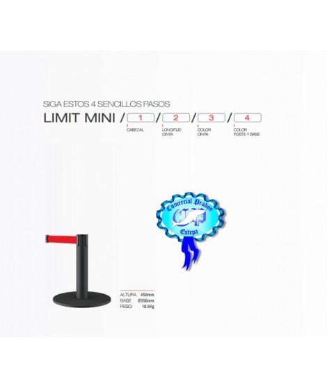 Poste de cinta extensible LIMIT-MINI