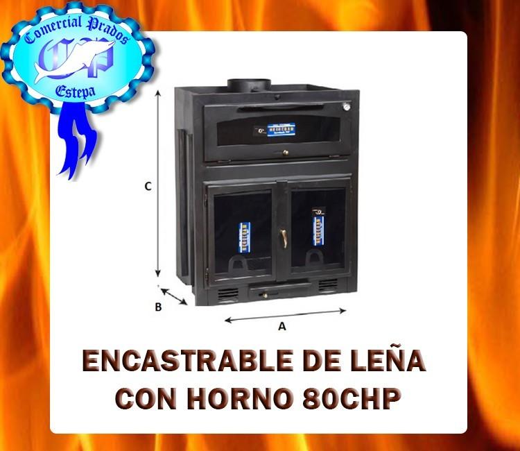 Insertable de le a 80chp chimenea cassette economica - Chimenea horno de lena ...