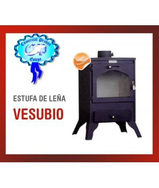 ESTUFA DE LEÑA VESUBIO LS-110 9.0kw