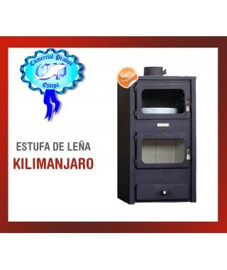 ESTUFA DE LEÑA KILIMANJARO  LS-140F 11.0kw