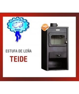 ESTUFA DE LEÑA TEIDE LS-130 10.0kw