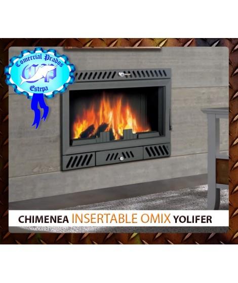 Chimenea insertable de le a omix barata for Chimenea insertable lena