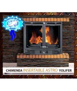 Chimenea insertable de leña Astro Yolifer - 458