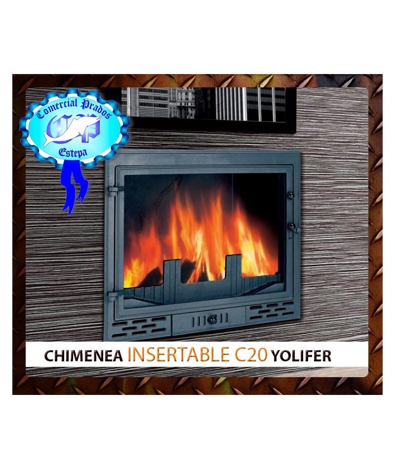 Hogar insertable de le a c20 de yolifer - Hogar chimenea lena ...