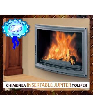 Bloque chimenea insertable de leña Jupiter Yolifer - 458
