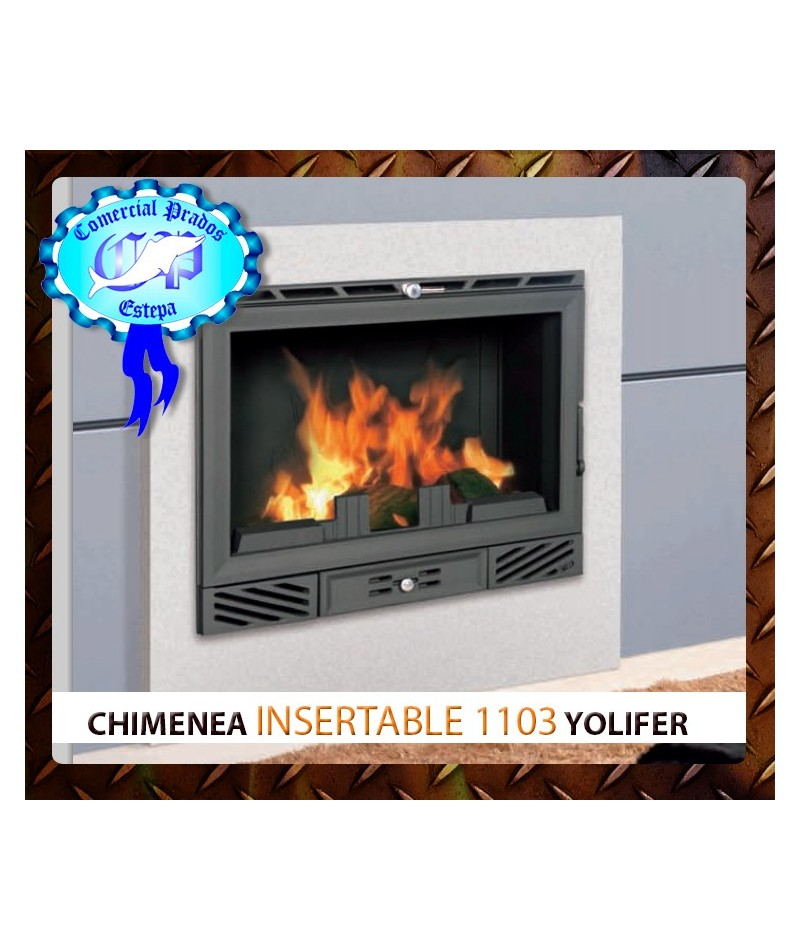 Comprar chimenea insertable de le a 1103 ferlux oferta barata Chimeneas de pellet baratas