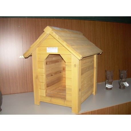 REF. 63042 Caseta perro madera