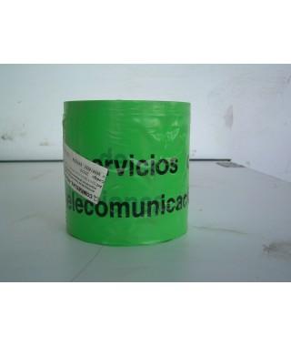 REF. 28338 Cinta señalización verde 15 cm