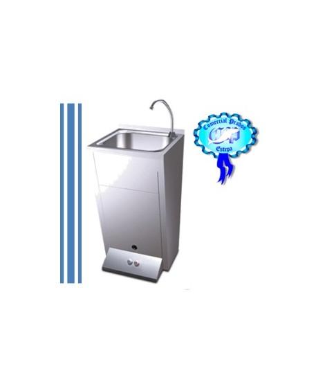 Lavamanos registrable con pedestal 2 pulsadores a660118 for Lavamanos con pedestal