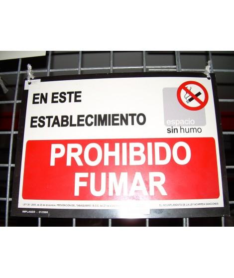 REF. 28202 Señal prohibido fumar