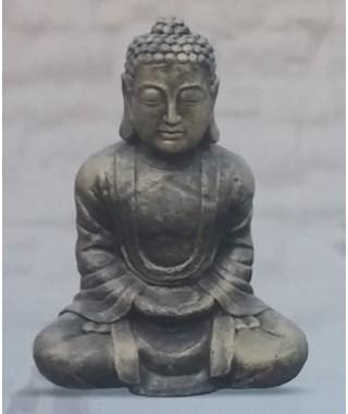 Buda Tibetano Metálico Croma