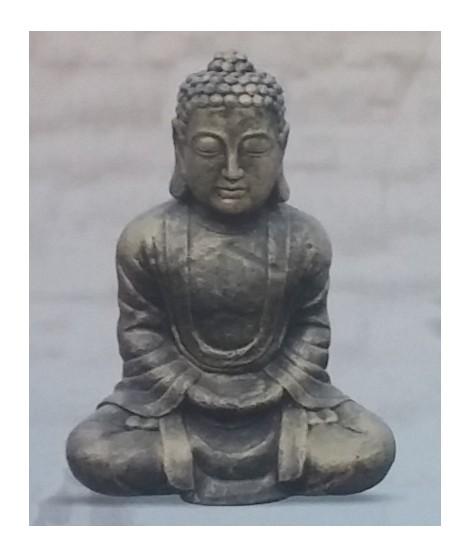 Figura de Buda Tibetano Metálico