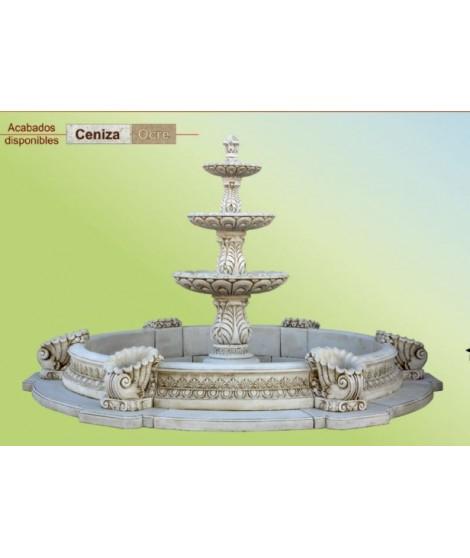 Estanque de Fuente de Jardín Modelo Renacimiento