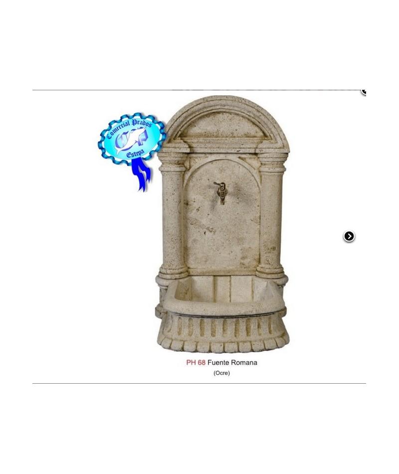 Fuente romana con grifo comercial prados for Fuentes de jardin baratas