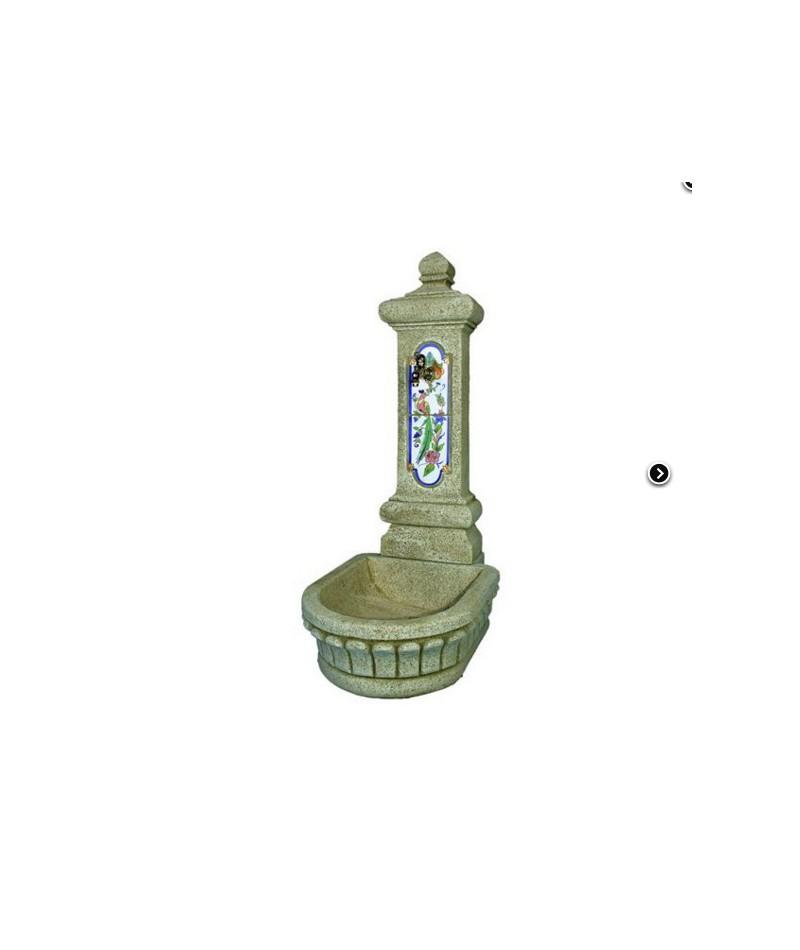 Fuente mistral con grifo comercial prados for Fuentes de jardin baratas