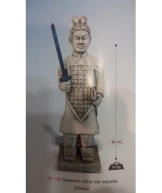 Guerrero Chino con Espada Serie Oriental