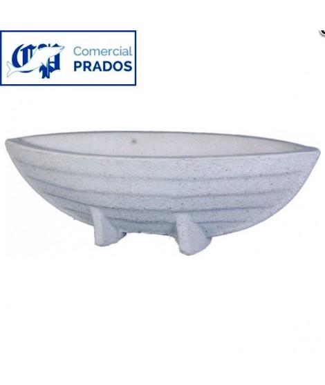 Macetero Barco Pequeño Serie Granito
