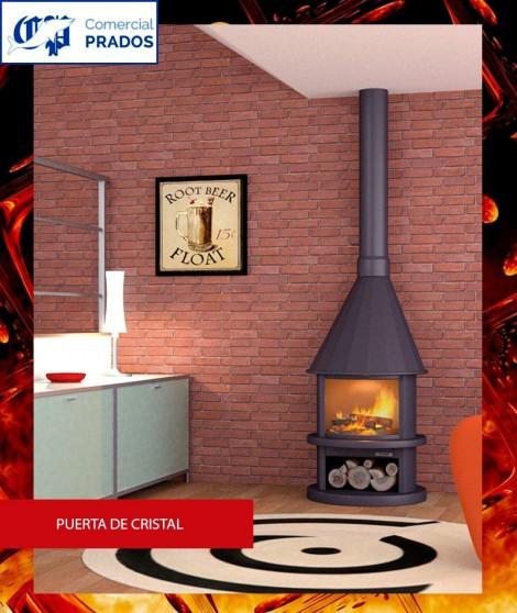 Estufa ES41PC de leña - Focgrup