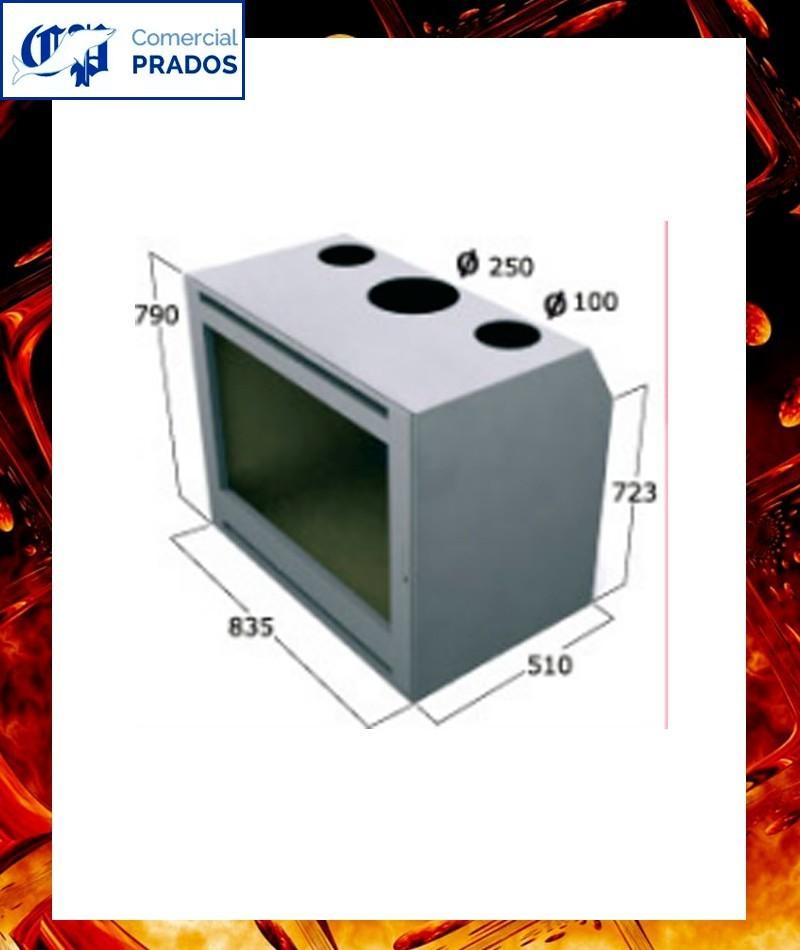 Chimenea cassette insertable int69pci focgrup comprar - Chimeneas cassette precios ...