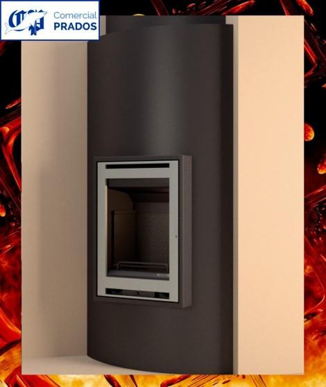 Revestimiento CU50/INOX frontal para INT110 en acabado acero inox.   - FOCGRUP