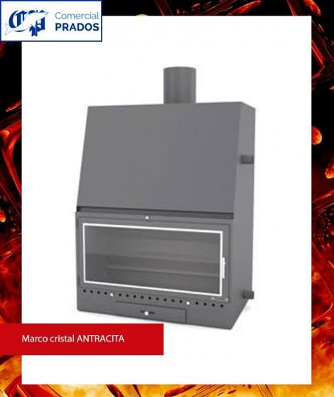 Chimenea MO600PCA insertable recuperador de calor por agua - FOCGRUP
