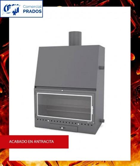 Chimenea MO700PCA insertable recuperador de calor por agua - FOCGRUP