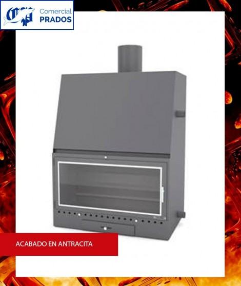 Chimenea MO800PCA insertable recuperador de calor por agua - FOCGRUP