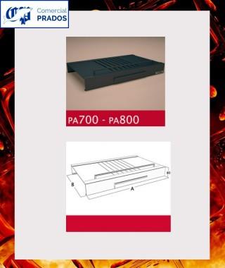 Parrilla PA700  y cenicero para HO700 - FOCGRUP