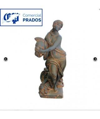 Estatua de Jardín Atenea Óxido
