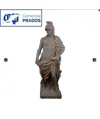 Estatua de Jardín Marte Óxido